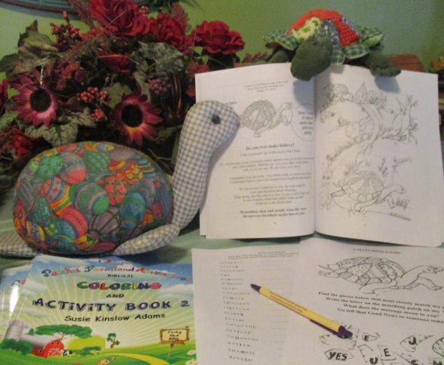 Biblical Activities and Coloring Pages Book 2 is here!